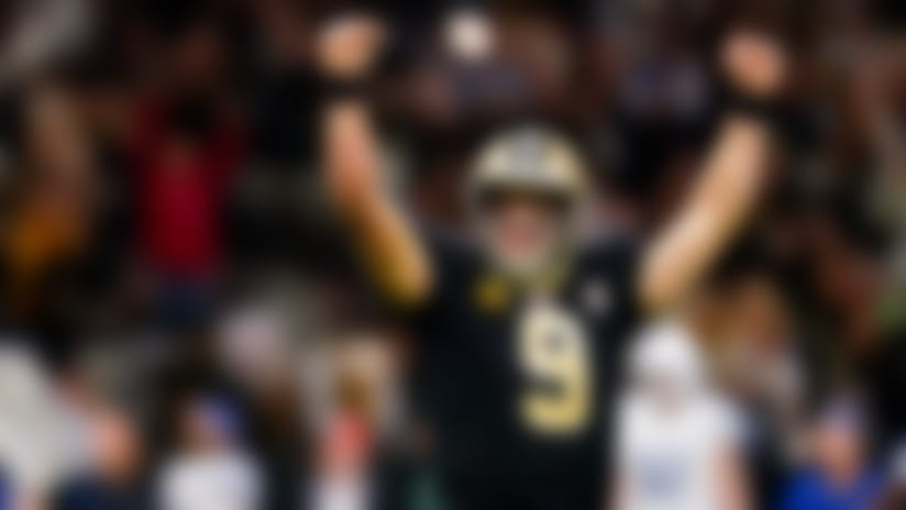 Drew Brees passes Peyton for most career TD passes
