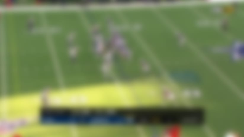 Blake Jarwin moves chains with 20-yard catch and run