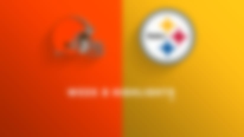 Browns vs. Steelers highlights | Week 8