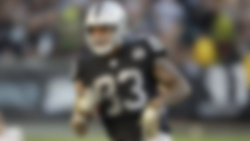 Oakland Raiders tight end Darren Waller during the second half of an NFL football game in Oakland, Calif., Sunday, Nov. 17, 2019. (AP Photo/Ben Margot)