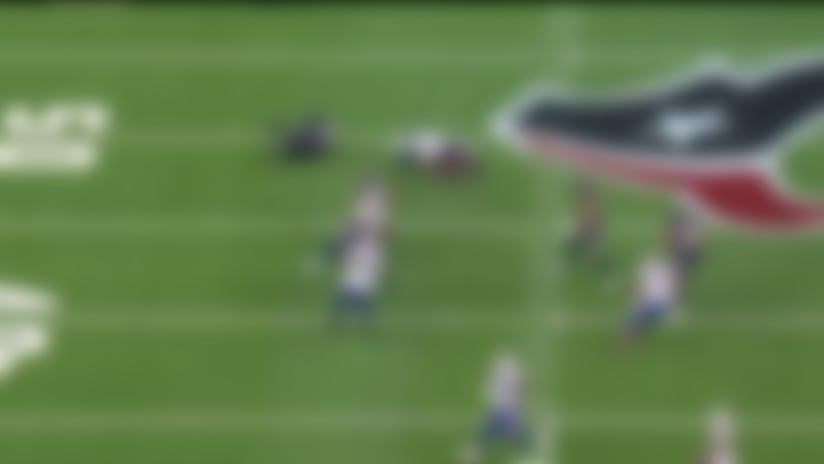Trent Murphy trips up Deshaun Watson for third-down sack