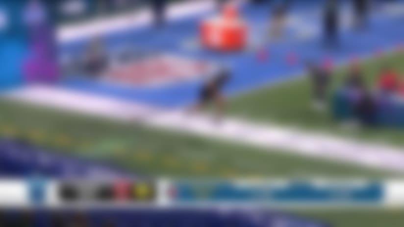 Iowa Hawkeyes offensive lineman Tristan Wirfs' 2020 NFL Scouting Combine workout