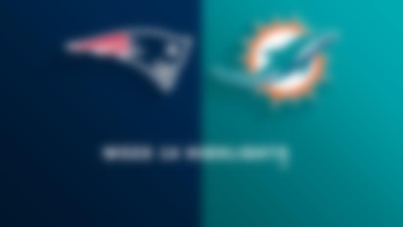 Patriots vs. Dolphins highlights | Week 14