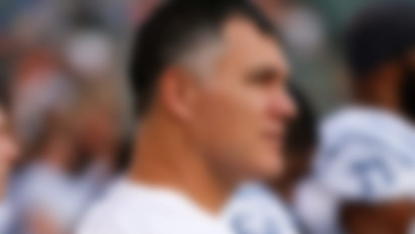 Indianapolis Colts kicker Adam Vinatieri stands on the sidelines during the first half of an NFL preseason football game against the Cincinnati Bengals, Thursday, Aug. 29, 2019, in Cincinnati. (AP Photo/Gary Landers)