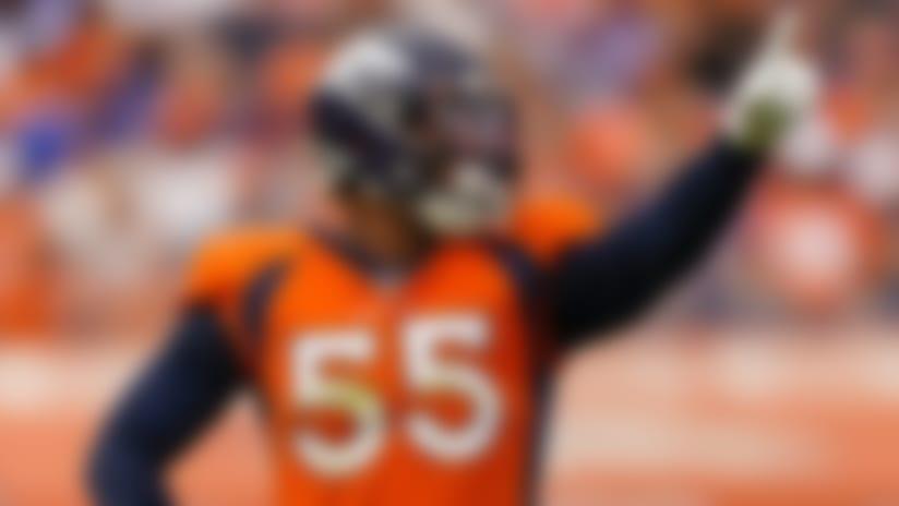 Bradley Chubb: Rehabbing 'weird' in near-empty Broncos facility