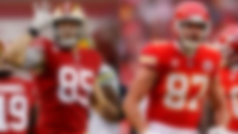 PFF weighs in on debate between Kittle, Kelce as NFL's top TE
