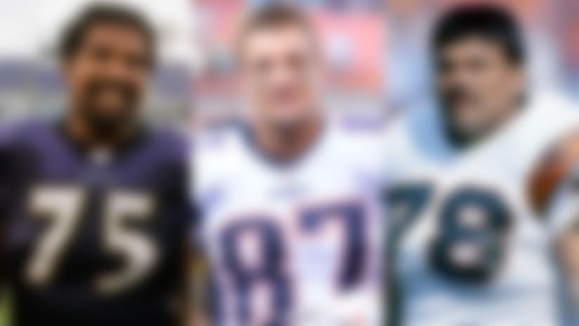 NFL's All-Time Team: Tight ends, offensive linemen revealed