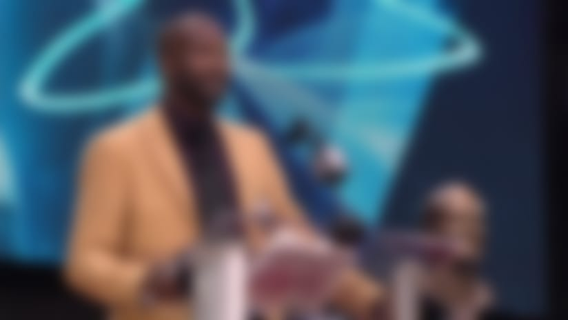 Champ Bailey recalls his Redskins playing days in HOF speech