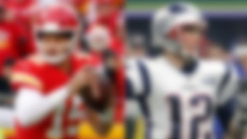 Patrick mahomes, Tom Brady