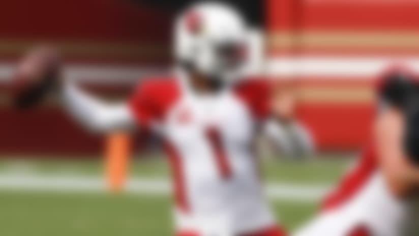Arizona Cardinals quarterback Kyler Murray (1) looks to pass during an NFL football game against the San Francisco 49ers, Sunday, Sep. 13, 2020 in Santa Clara, Calif. (Ric Tapia/NFL)