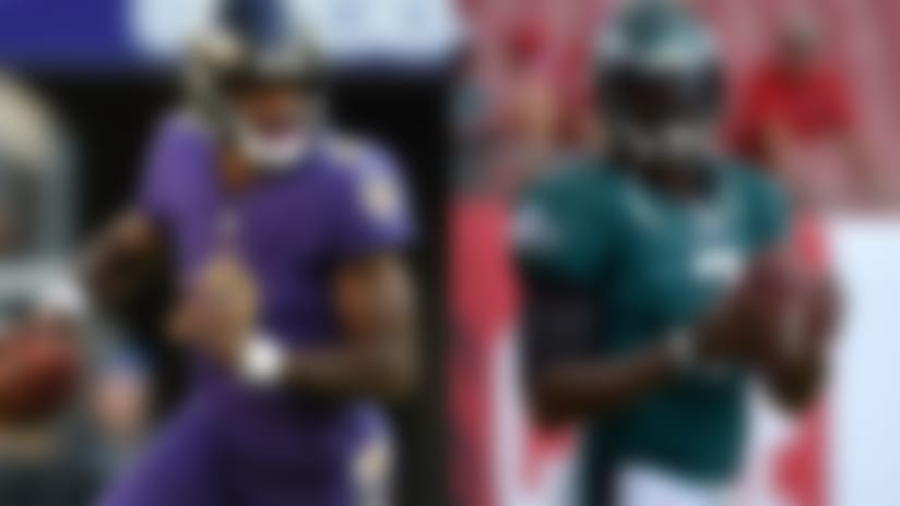 Baltimore Ravens LB C.J. Mosley compares QB Lamar Jackson to QB Michael Vick