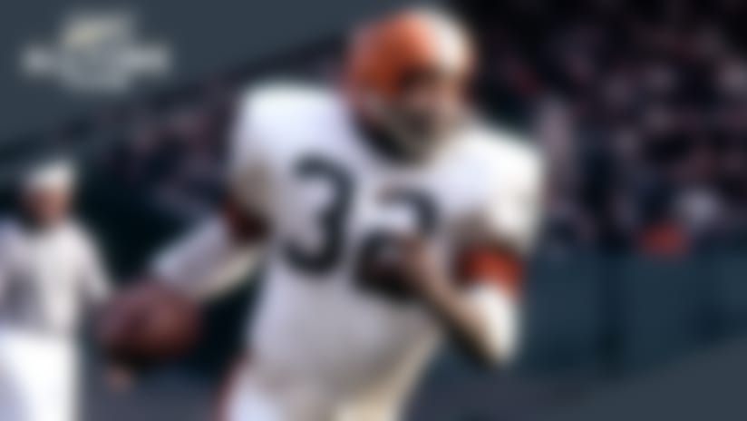 Jim Brown first player named to NFL All-Time Team