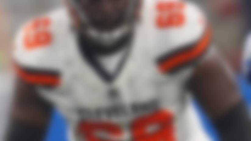 Will Browns start rookie Desmond Harrison at LT?