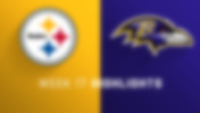 Steelers vs. Ravens highlights | Week 17
