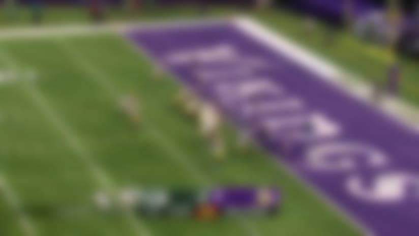 Vikings stuff Green Bay with goal-line stand