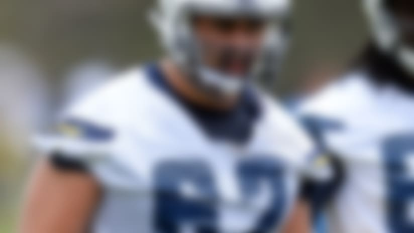Chargers OL Max Tuerk suspended four games