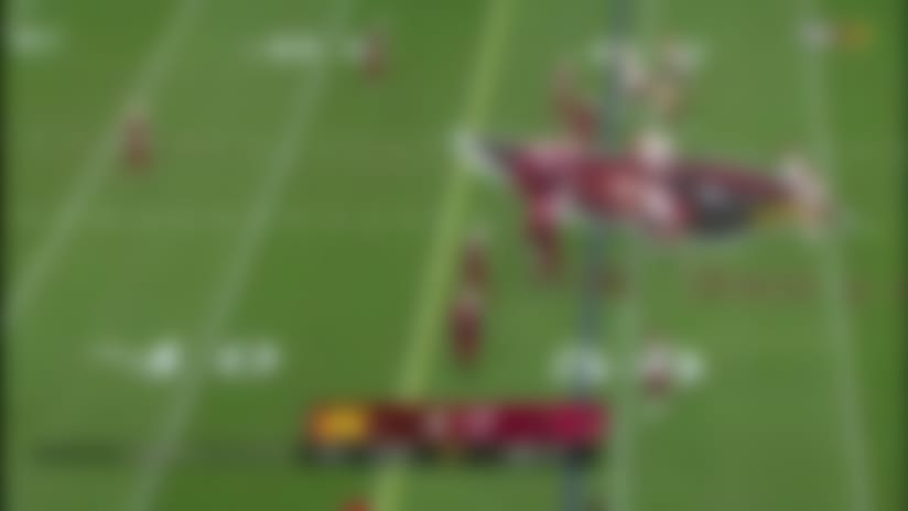 Budda Baker brings the boom on textbook tackle to force fourth down
