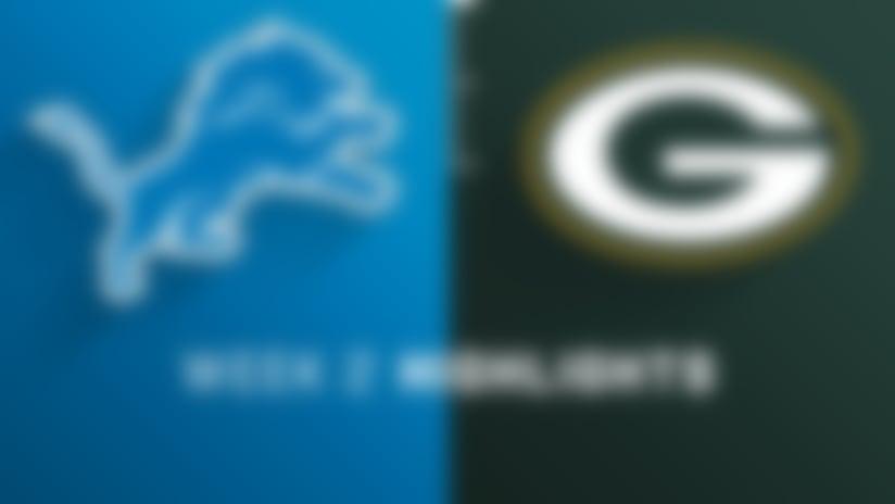 Lions vs. Packers highlights | Week 2