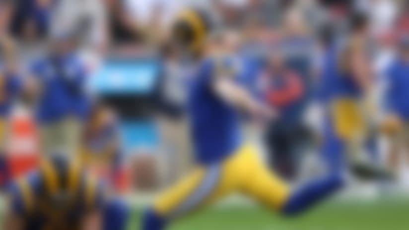Greg Zuerlein on kicker competition: 'Ideally, I win'