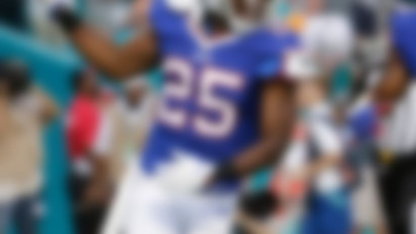 LeSean McCoy unlikely to play for Bills vs. Giants
