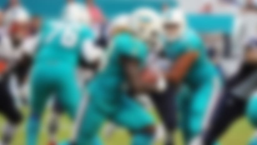 Dolphins GM says he's 'comfortable' with RBs on roster