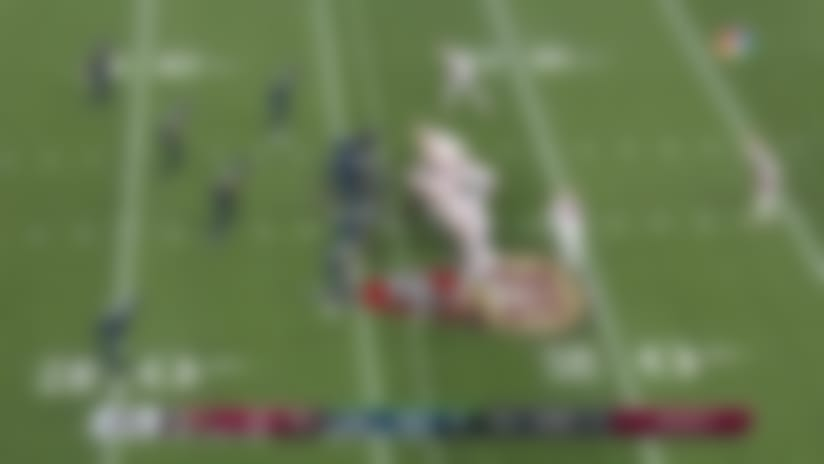 K.J. Wright buries George Kittle in the backfield for big loss