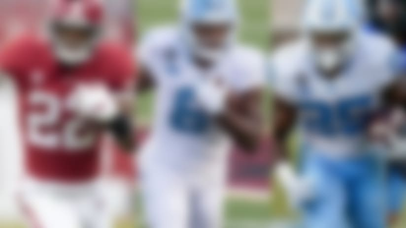 Who are the draft's best running backs?