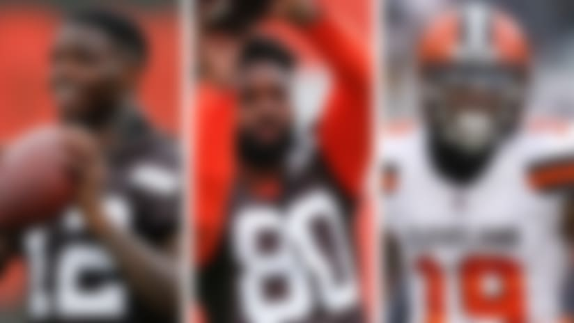 Gordon: Browns boast 'best receiving corps' in league