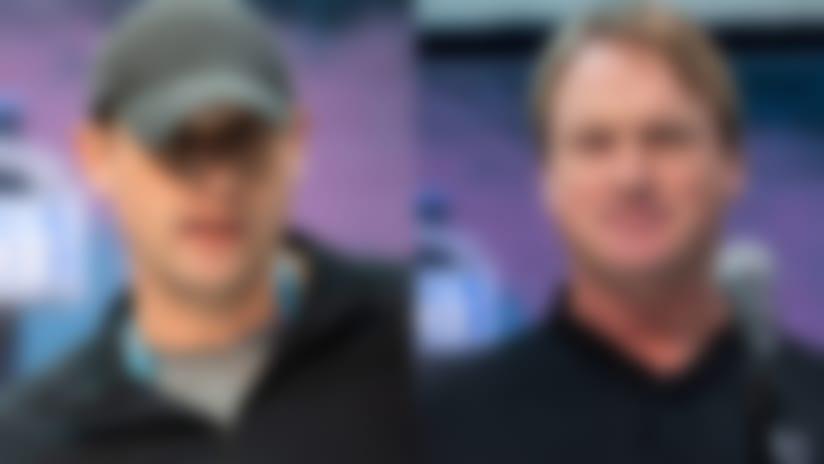 Adam Gase and Jon Gruden