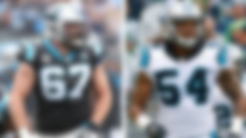 Panthers' Kalil, Shaq Thompson doubtful for 'MNF'