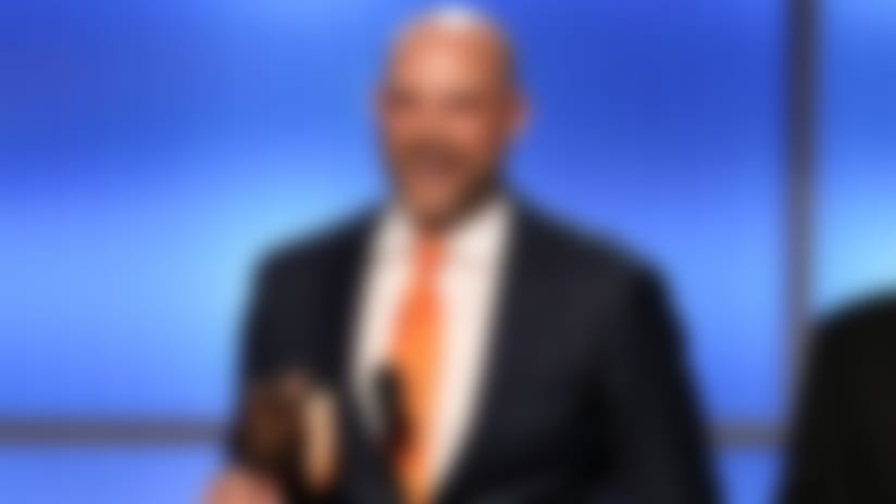 Matt Nagy during the NFL Honors awards show, Saturday, Feb. 2, 2019 in Atlanta. (Perry Knotts/NFL)