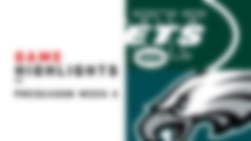 Jets vs. Eagles highlights   Preseaon Week 4
