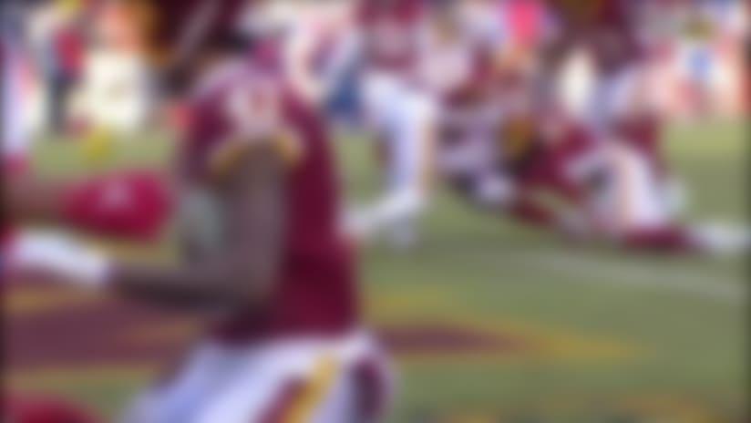 Daniel Jones connects with Cody Latimer for 10-yard TD strike