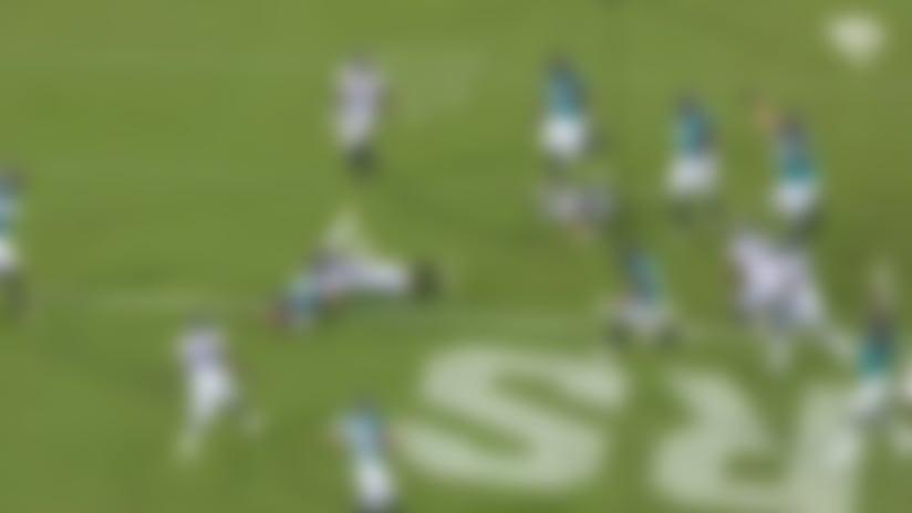 Alex McGough weaves his way through Eagles' defense for 4-yard TD