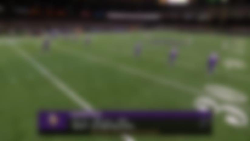 Deonte Harris' most impactful plays vs. Vikings | NFC Wild Card
