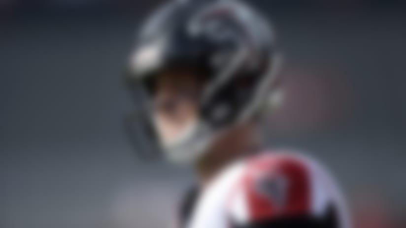 Atlanta Falcons quarterback Matt Ryan (2) warms up prior to an NFL football game against the Tampa Bay Buccaneers Sunday, Dec. 29, 2019, in Tampa, Fla. (AP Photo/Jason Behnken)