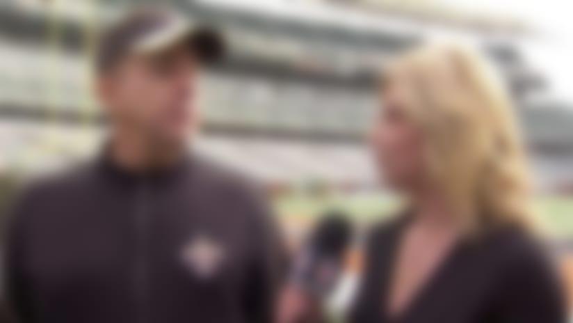 New Orleans Saints head coach Sean Payton reacts to Dez Bryant's injury