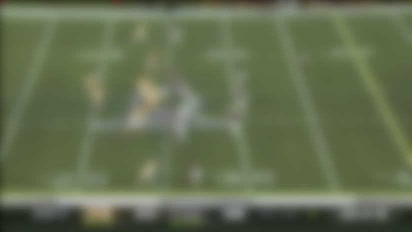 NFC fails to convert fourth-and-15 'onside kick' attempt