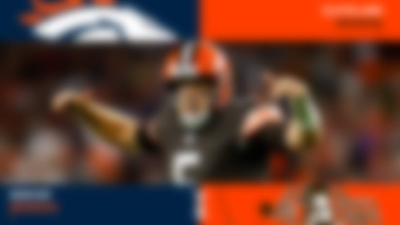 Browns run over Broncos in 'TNF' win