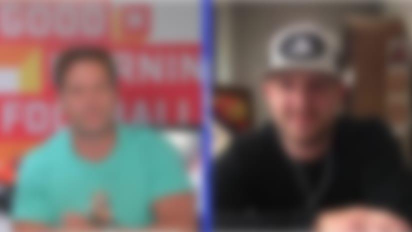 Country singer Justin Moore rates Dak Prescott's cowboy hat