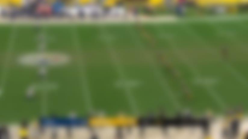 JoJo Natson's 30-yard kickoff return gives Rams good field position