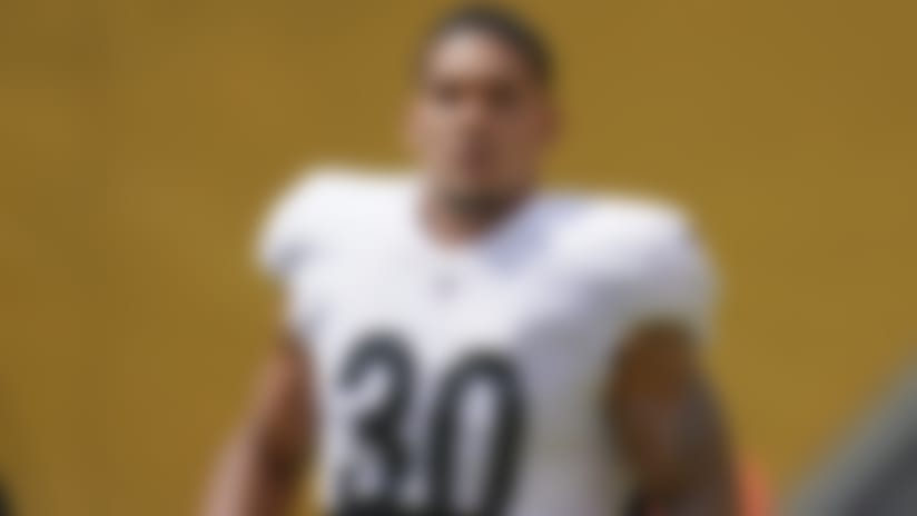 Mike Tomlin: James Conner is Steelers 'bell cow,' 'primary ball-toter'