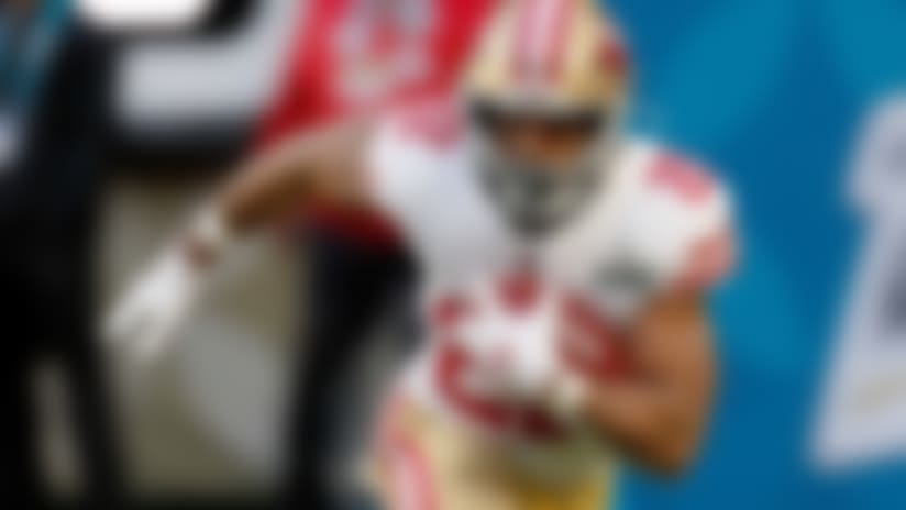 49ers trade Matt Breida to Dolphins for 5th-round pick