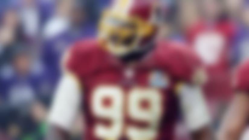 Redskins' Jarvis Jenkins suspended 4 games for PEDs