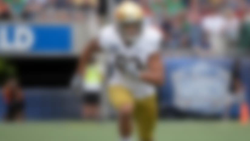 Steelers select Notre Dame WR Chase Claypool