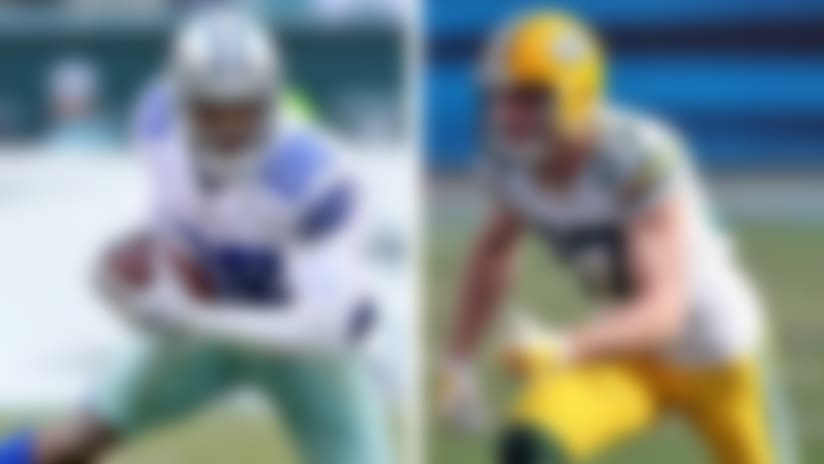 Dez Bryant and Jordy Nelson