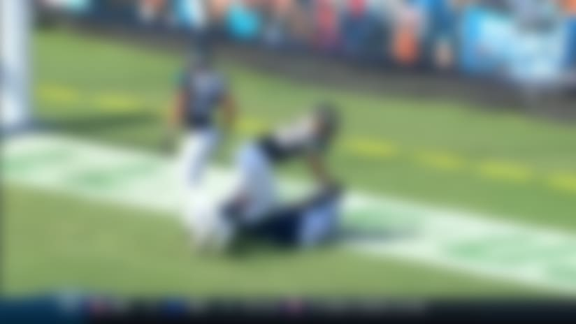 Corey Davis leaps for first TD grab since Week 6, 2019