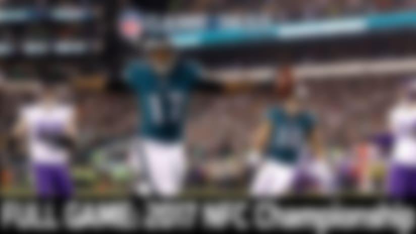 Full NFL Game: 2017 NFC Championship Game - Vikings vs. Eagles | NFL Game Pass