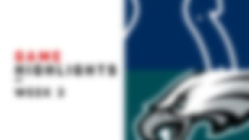 Colts vs. Eagles highlights   Week 3