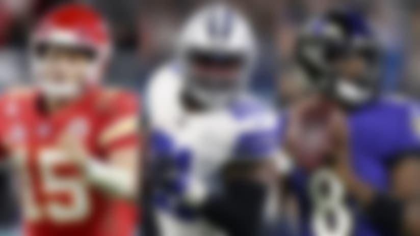 NFL's top 10 offenses: Chiefs, Ravens pulling away from pack